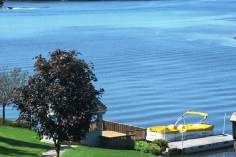 Waterfront homes allow you immediate access to the water at any time, and offer picturesque views.