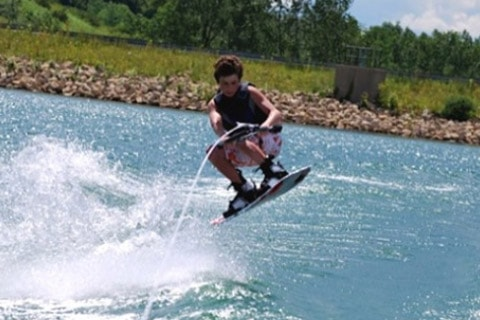 Lake Carroll, IL is a perfect spot to enjoy watersports and boating of any type, from water skiing and tubing to gliding at a stately pace through quiet natural surroundings.